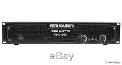 1000w Pro Home Digital Stereo Music Audio Power Amp Amplifier Receiver New