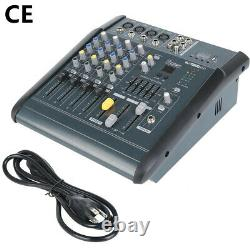 180W RMS 4Channel Professional Powered Mixer power mixing Amplifier Amp 16DSP