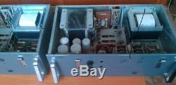 1960 Rare Eag Pair Vintage Tube Pro Amp Amplifiers Siemens Telefunken El-34