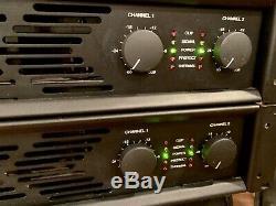 (2) Carver Professional PXM450 PXM-450 Professional Amplifier RARE! Excellent