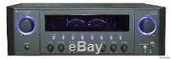 2 Channel Professional Dj 1000w Home Audio Digital Stereo Power Amplifier Amp