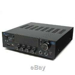 220V-240V 2000W 2 Channel Pro bluetooth Power Amplifier AMP Stereo Audio