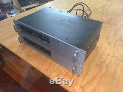2xCarver PM-1.5 Professional High Headroom Power Amplifier 350WithCh 1200WithCh Mono