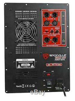 600 Watt RMS Pro Audio Powered Subwoofer Amplifier Plate Module Panel XLR In/Out