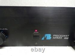 AB Systems Precedent Series 600 Professional Amplifier