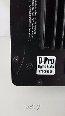 Augspurger DSP3-1250 Amplifier 3 Way Plate Amp Class D 4ohm D-Pro