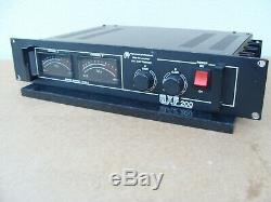 B. K Electronics Dmp Mxf-200 High Power Professional Mosfet Amplifier 100w Ch
