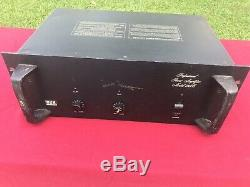 BGW Model 750C Vintage Professional Power Amplifier Only 1 Channel Working