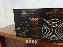BGW Professional Power Amplifier model 750E sold for parts or not working
