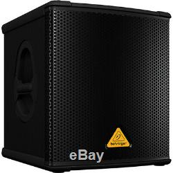 Behringer B1200D-PRO dsply Active Subwoofer Powered Sub 500W Class-D amplified