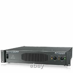 Behringer EP2000 Europower 2000W Stereo Power Amplifier, Pro Sound Quality Amp