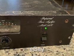 Bgw Professional Power Amplifier Model 250e