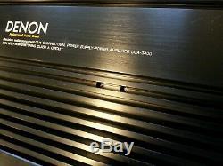 CLASS A DENON DCA 3400 Power Amplifier 4/2 channel HiSq Pro Car Audio Amp