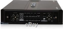 CRUNCH PD4000.4 4000W 4-Channel Pro Power Class AB Car Amplifier + Amp Kit