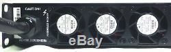 CVR D-1504 Series Professional Power Amplifier 1 Space 1500 Wattsx4 at 8 BLUE