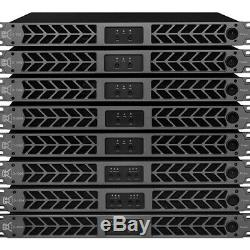 CVR D-3002 Professional Power Amplifier 7140 Watts x2 at 2 (black)