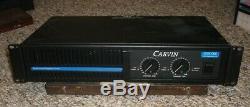 Carvin DCM1000 1000 Watt Power Amplifier Professional Amplifier Series