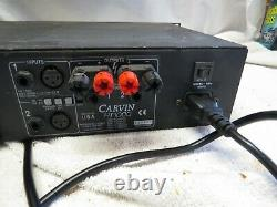 Carvin HT1000 Professional Stereo Power Amplifier Amp