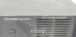 Crest Audio 8001 Professional Power Amplifier Amp 230V/50hz untested as-is