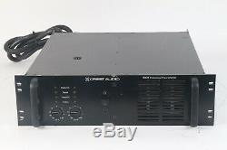 Crest Audio 9001 Professional Power Amplifier, 2200W, 4-ohms/Ch, 120V AC