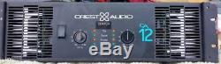 Crest Audio CA12 Professional Stereo Amplifier Pro Audio Amp