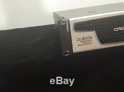 Crest Audio CC4000 Professional 4000 Watts Power Amplifier DJ/PA