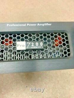 Crest Audio PRO 7200 Professional Power Amplifier