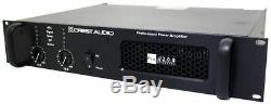 Crest Audio PRO8200 Pro 8200 4500 Watt Professional Amplifier Power Amp