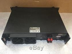 Crest Audio Pro 7200 3300 Watt Power Amplifier Unit #2 Great Used Condition