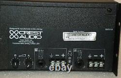 Crest Audio Vs1100 Amp 1400 Watt Pro Live Sound Professional Power Amplifier