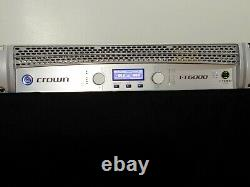 Crown I-Tech 6000 Professional Power Amplifier DJ/PA