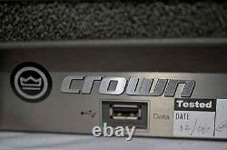 Crown I-tech 12000hd Professional Powered Amplifier (one)