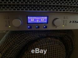 Crown IT6000 I-Tech 6000 2-Channel Professional Power Amplifier I-T6000