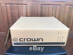 Crown MA-12000i Professional 9000W Stereo Power Amplifier 2100W per/CH @ 8-Ohms