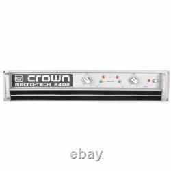 Crown MA2402 2 Channel Professional AMP (Single 220V Unit)