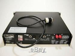 Crown Macro-Tech 1202 / Professional 2-Channel Amplifier / FXQ / 020662 - CC
