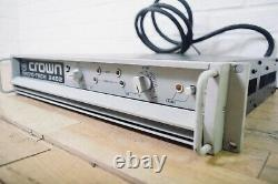 Crown Macro-Tech 2402 professional PA power amplifier amp in very good condition