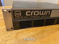 Crown Micro Tech 1200 Pro Audio PA Power Amplifier Used