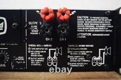 Crown Micro-Tech 1200 professional PA power amplifier amp in very good condition