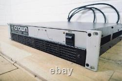 Crown Micro-Tech 600 professional PA power amplifier amp in very good condition