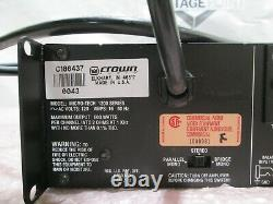 Crown Micro-tech 1200 Pro Audio Pa 2-channel Power Amplifier