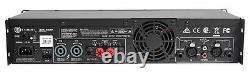 Crown Pro XLS1002 XLS 1002 700 Watt DJ/PA Power Amplifier Amp, Only 8 LBS + DSP