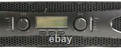 Crown Pro XLS2502 XLS 2502 2400w DJ/PA Power Amplifier Amp, Only 11 LBS + DSP