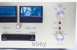 DYNACO STEREO 400 Power Amplifier With METERS PRO RESTORED, RECAPPED, LEDs