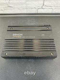 Denon Professional Audio 4 Channel Power Amplifier DCA-3150 Made In Japan