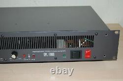 FENDER SUNN SPL 6000 2 CHANNEL x 300w PROFESSIONAL POWER AMPLIFIER