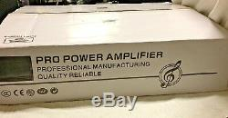 Fp10000q Professional Amp 4 Channel 1350 W Class Td Home Stereo Subwoofer