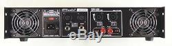 GTD Audio 2 Channel 2500 Watts Professional Power Amplifier Amp Stereo J2500