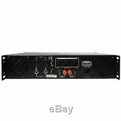 Gemini Pro GPA-6000 5000W 2 Channel Power DJ Amplifier 2U Rack Mount Amp Stereo