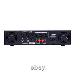 Gemini XGA-2000 Professional Power Amplifier 2000W DJ Disco Sound System PA